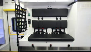 Bench Seating with 6-Point Harness