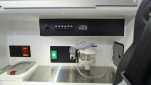 Stainless Steel Counter and Controls